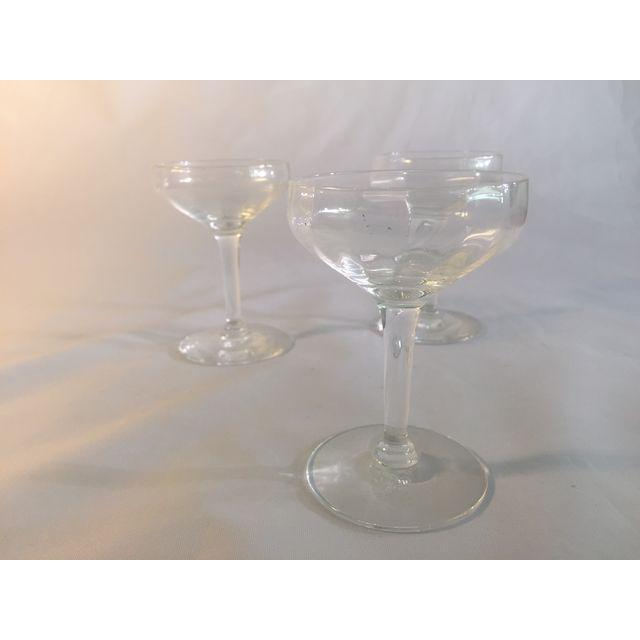 Vintage Champagne Coupes - Image 6 of 6