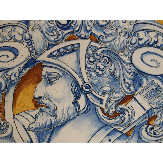 Antique Renaissance Style Platter from Spain For Sale - Image 9 of 10