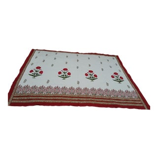 Hand Block Print Cotton Bed Cover