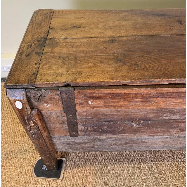 Late 18th Century French Blanket Chest For Sale - Image 9 of 13