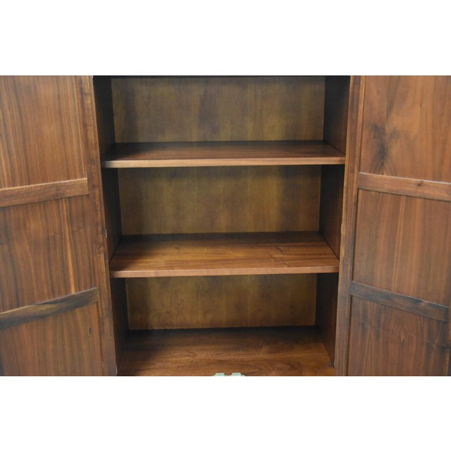 Mid-Century Modern Jack Cartwright for Founders Walnut Armoire Dresser For Sale - Image 3 of 11