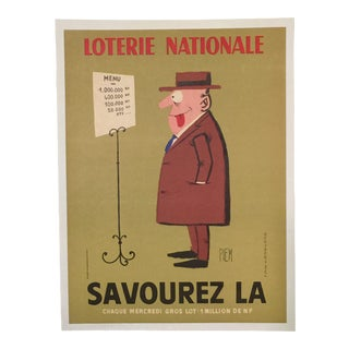 Original Mid-Century French Poster