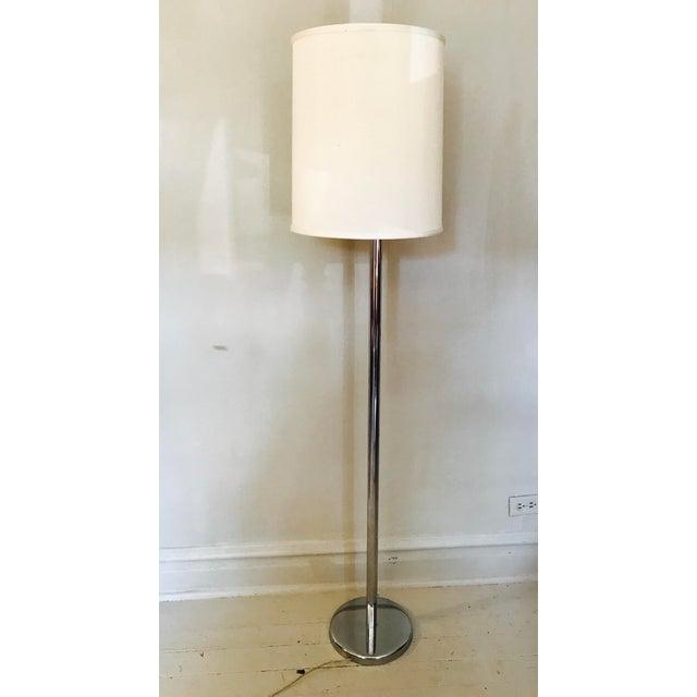 Vintage Classic George Kovacs Chrome Floor Lamp - Image 2 of 4