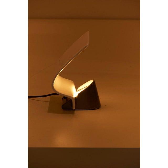 "Ceramic Table Lamp ""Maia"" by Arturo Silva for Antonangeli, Italy For Sale - Image 6 of 10"