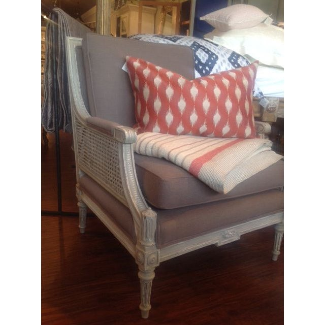 Vintage Cane Arm Chairs - A Pair - Image 4 of 6