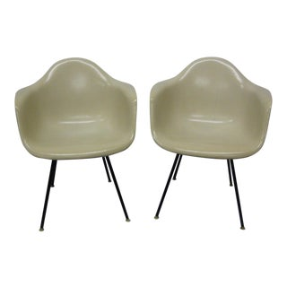 1957 Mid-Century Modern Eames Arm Chairs - a Pair For Sale