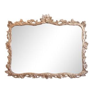 Rococo Carved Gilt Mirror