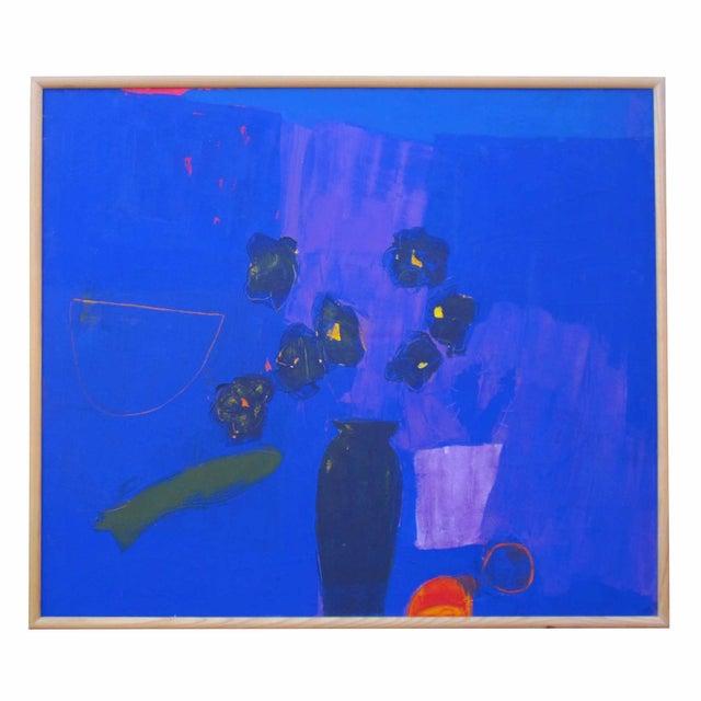 Blue Vase Painting - Image 1 of 2