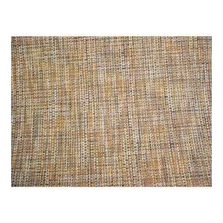 Gaston Y Daniela San Antonio Tobacco Tweed Upholstery Fabric - 3 3/8 Yards For Sale