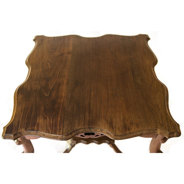 Vintage Mahogany Occasional Table - Image 4 of 5