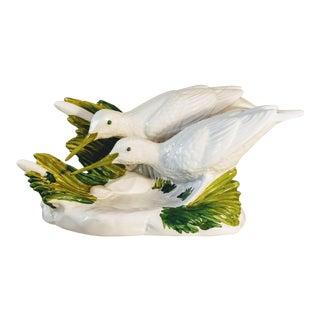 Italian Sea Birds Sandpiper Figural Shore For Sale