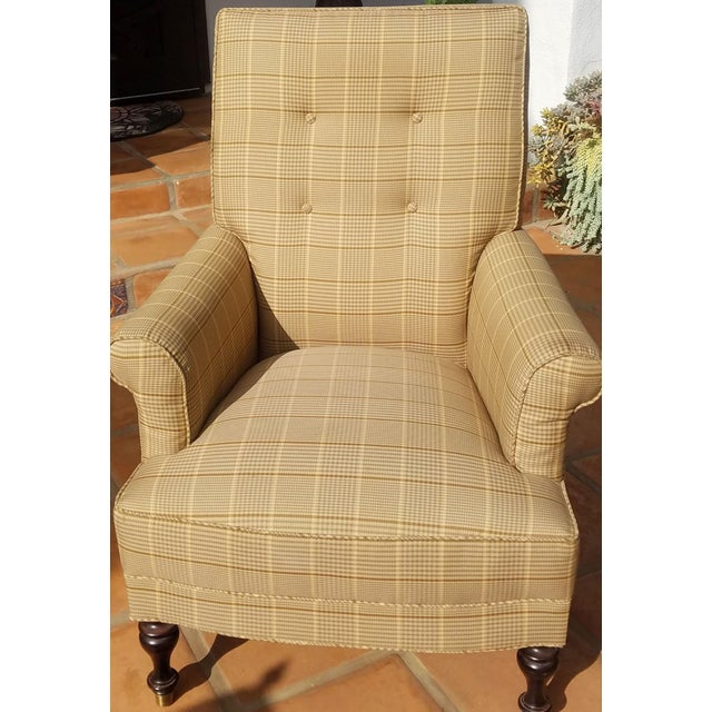 2010s Traditional Club Chairs by Mitchel Gold - a Pair For Sale - Image 5 of 11
