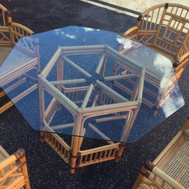 Rattan Brighton Pavilion Dining Set - Image 3 of 11