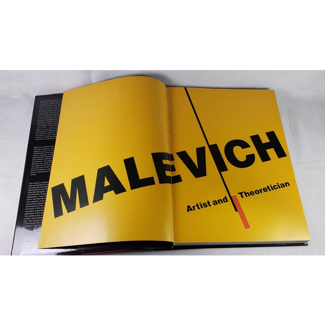"""Late 20th Century """"Malevich - Artist and Theoritician"""" Coffee Table Art Book For Sale - Image 5 of 8"""
