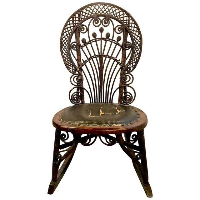 Heywood Wakefield Rocking Chair For Sale - Image 10 of 10