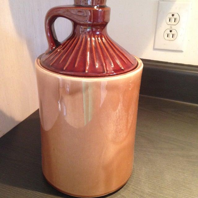 McCoy Vintage Brown Ceramic Cookie Jar - Image 6 of 8
