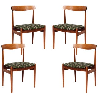 Set of 4 Danish Dining Chairs For Sale
