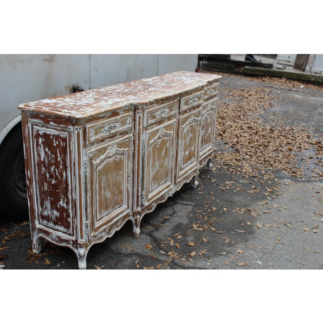 French C. 19th French Country Sideboard For Sale - Image 3 of 6