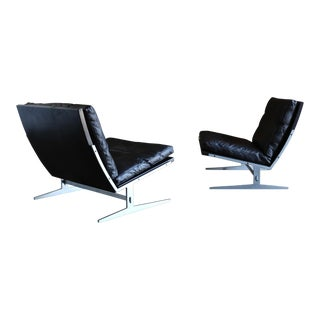 Jørgen Kastholm & Preben Fabricius Model Bo-561 Lounge Chairs Circa 1965 - a Pair For Sale