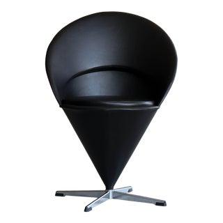"1950s Vintage Verner Panton Model K1 ""Cone"" Chair For Sale"