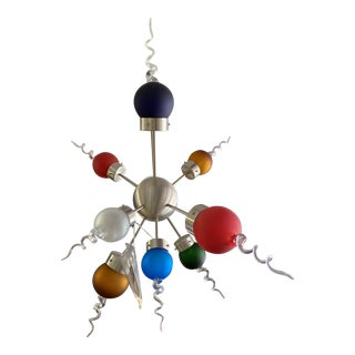 Tech Lighting Multi Color Galaxy Ceiling Light For Sale