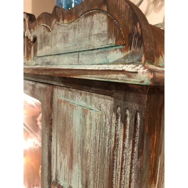 Copper and Rust Patina Cabinet - Image 5 of 8