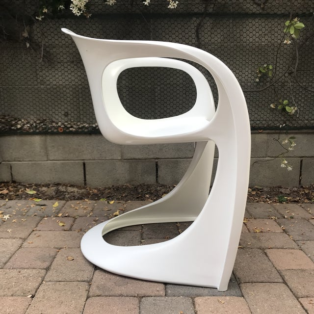 Mid Century Vitra Style Monolith Chairs- 5 Pieces For Sale - Image 9 of 11