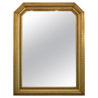 20th Century Italian Giltwood Mirror, 1940s For Sale