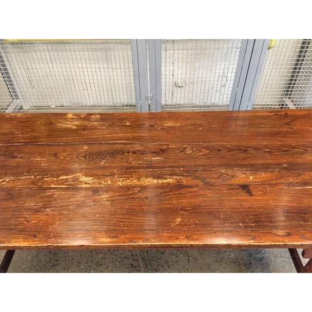Early 19th Century Antique Chinese Huanghuali Hardwood Table For Sale - Image 5 of 9