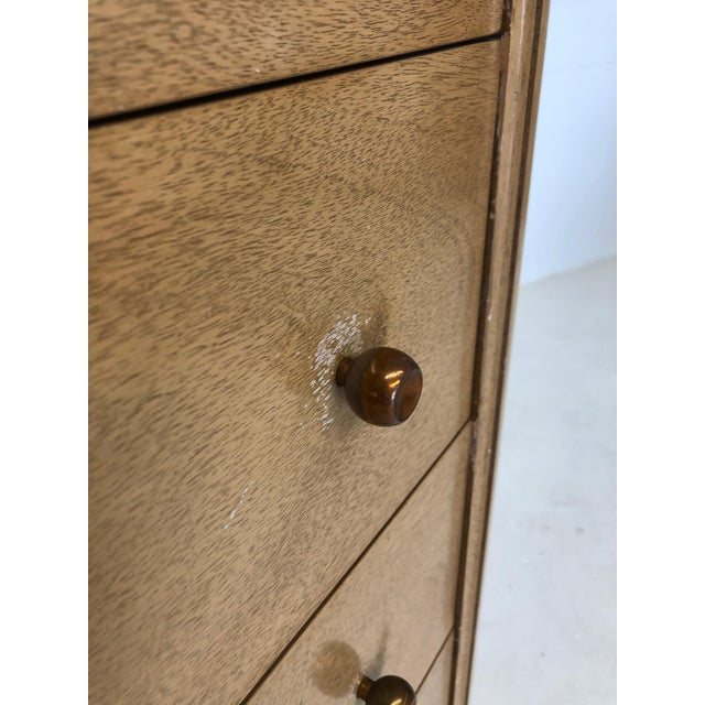 """Mid Century Modern Kent Coffey """"The Continental"""" Highboy Dresser For Sale In New York - Image 6 of 9"""