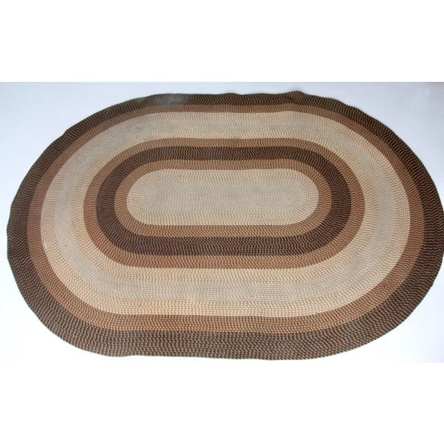 Vintage Braided Area Rug Chairish