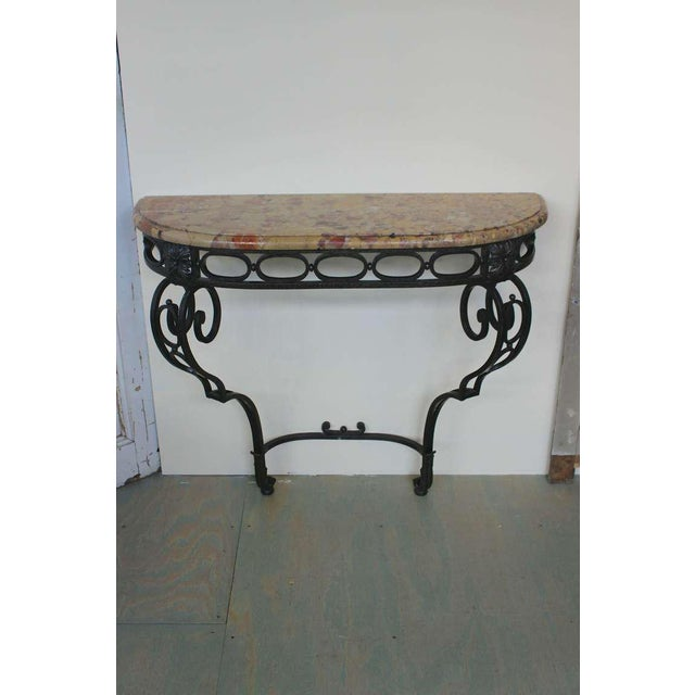 French Iron Console - Image 2 of 11