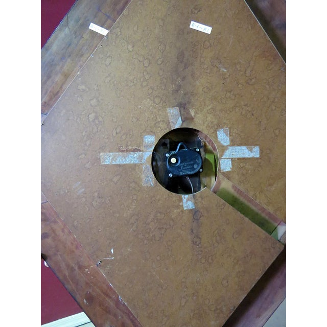 Regency Style Wall Clock For Sale - Image 4 of 5