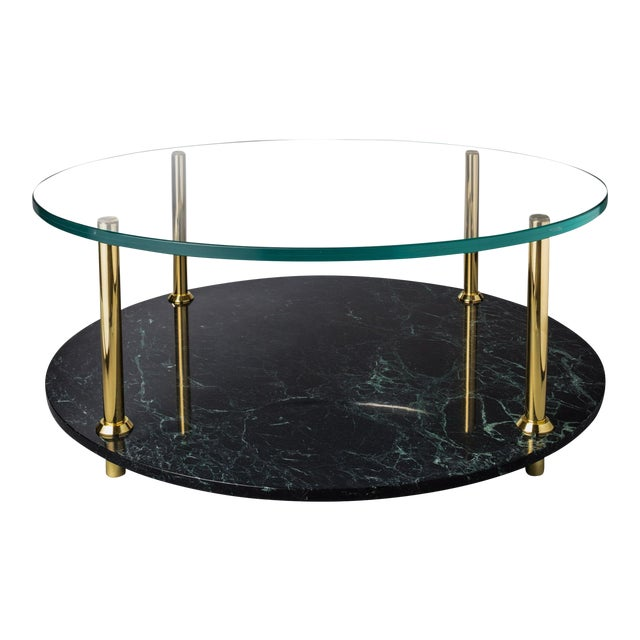 Mgb Round Coffee Table by Artist Troy Smith - Contemporary Design - Artist Proof - Custom Furniture For Sale