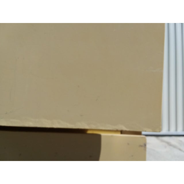 Brass 1970s Mid Century Modern Lane Lacquer Nightstands -a Pair For Sale - Image 7 of 8