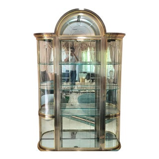 Glass Curio Cabinet For Sale
