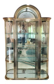 Image of Glass Curio Display Cabinets