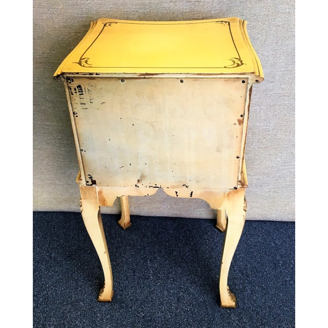 Chinese Chippendale Chairside Cabinet For Sale In West Palm - Image 6 of 7