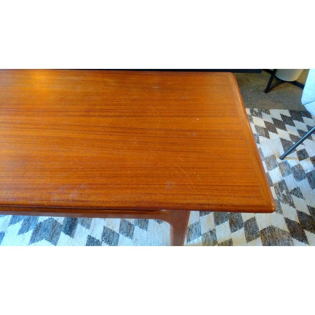 Danish 1960s Solid Teak Coffee Table by Trioh - Image 7 of 7