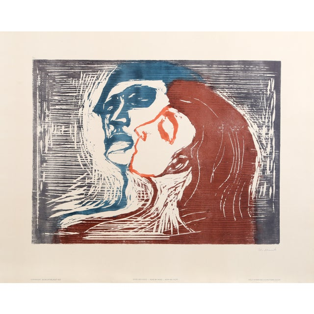 Edvard Munch, Head by Head, Poster For Sale In New York - Image 6 of 6