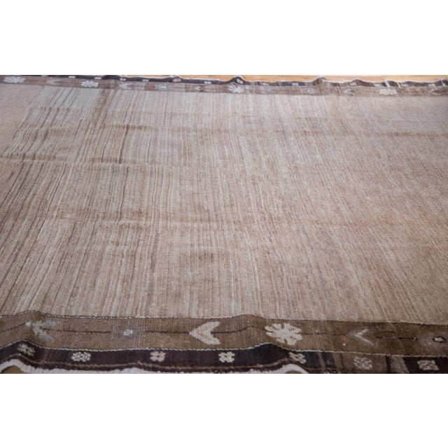 """Cotton Distressed Oushak Carpet - 7' X 9'1"""" For Sale - Image 7 of 11"""
