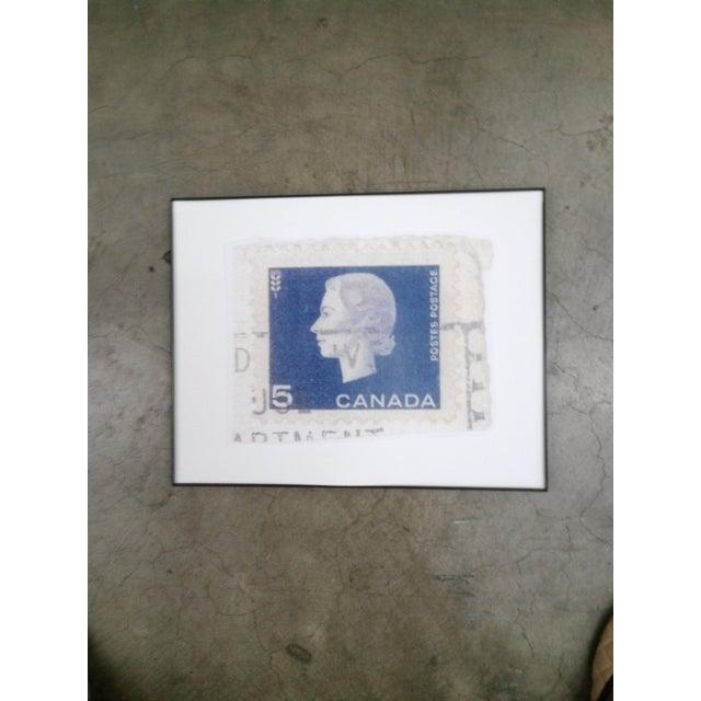 Reproduced Vintage Stamp of Queen Elizabeth II - Image 3 of 3