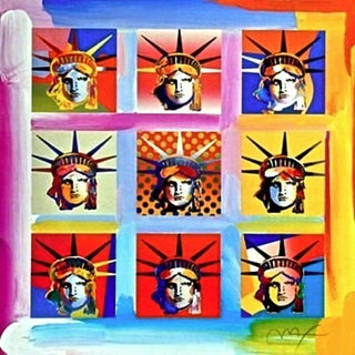 Peter Max Nine Liberties 2004 For Sale