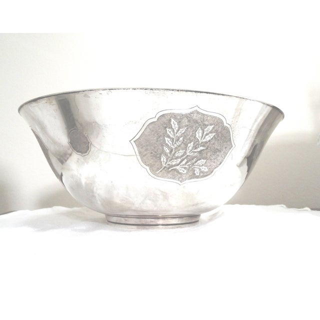 Four Seasons #155 Sterling Bowl, S. Kirk & Son - Image 8 of 9
