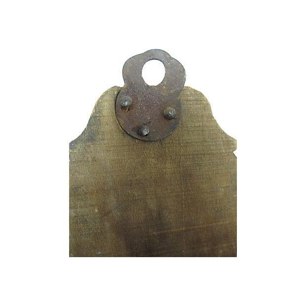 Antique French Swing-Arm Hand Towel Rack - Image 7 of 7
