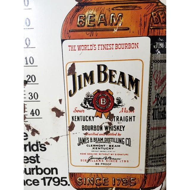 Vintage Original Jim Beam Advertising Thermometer - Image 7 of 9