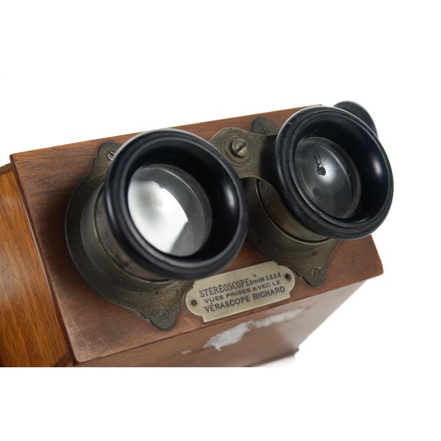 Stereoscope Wooden Viewer by Verascope Richard For Sale - Image 9 of 10