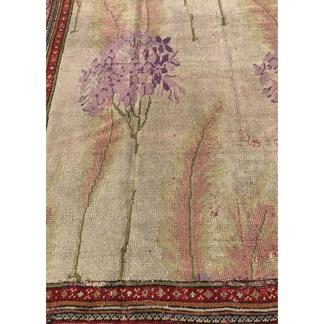 Vintage Design Decorative Turkish Rug- 7′2″ × 10′ For Sale - Image 10 of 13