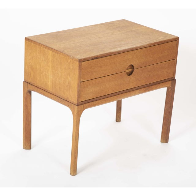 Danish Oak Night Stands by Aksel Kjersgaard - a Pair For Sale - Image 10 of 13
