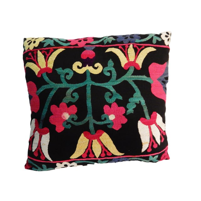 Old Suzani Lg Pillow - Image 2 of 8